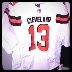 Nike Browns Odell Beckham Jr Stitched Jersey